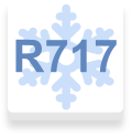Cold by refrigerant R717