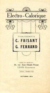 Logo Electro Calorique 1919