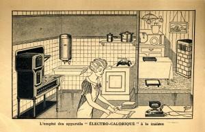 Publicité ELECTRO CALORIQUE 1930