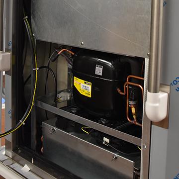 Compresseur pour le froid ventilé