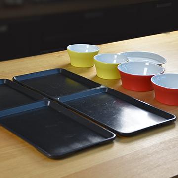 Vaisselle et plateaux Bento