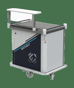 Chariot de distribution de repas Restiself compact