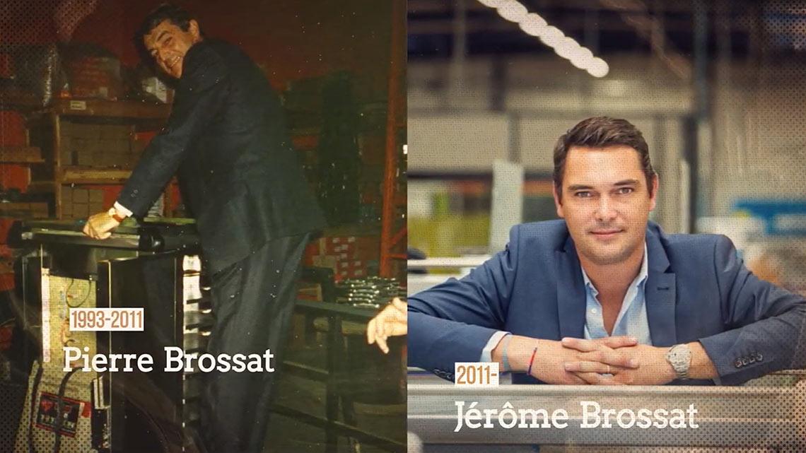 Pierre Brossat et Jérôme Brossat